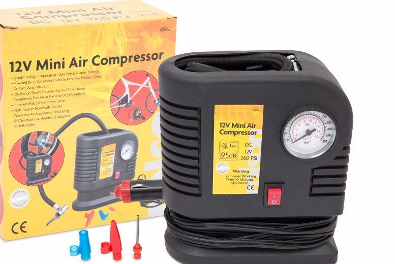200psi Mini Air Compressor for £10.00