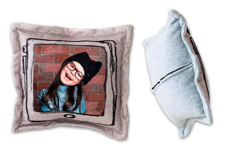 Personalised Fleece Photo Cushion for £12.00