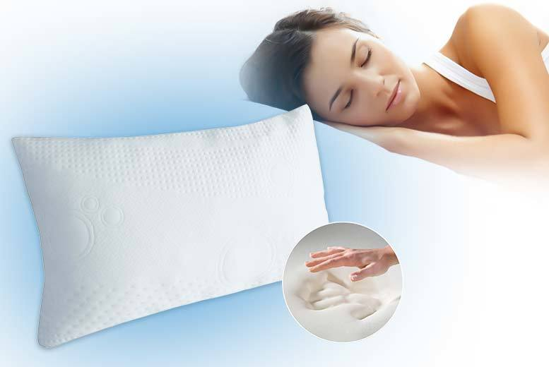 Luxury Cool Gel-Infused Memory Foam Pillow