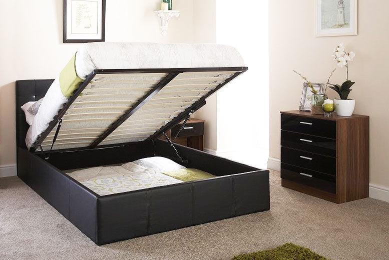 Ottoman Bed & Eco Mattress