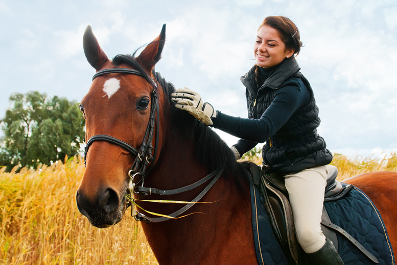 £45 for a two-hour horse trail ride with a picnic from Equine Learning, Wootton Park