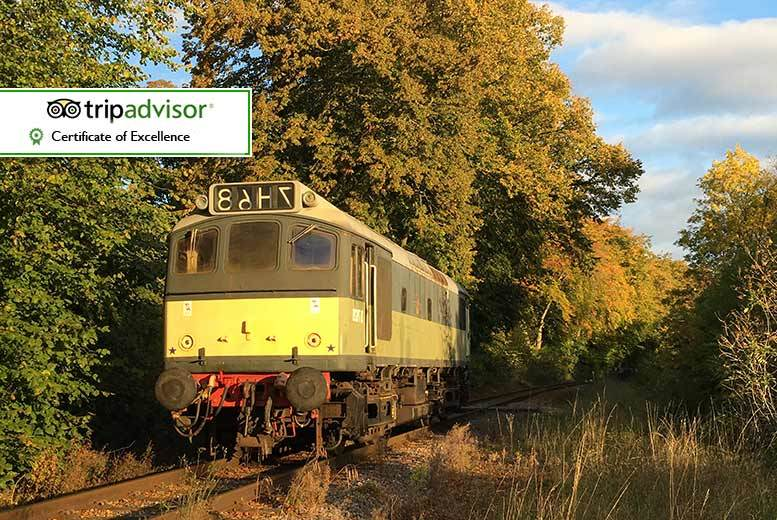 £19.99 instead of £37 for a family ticket to travel aboard a 1950s heritage dining train on the Ecclesbourne Valley Railway - save 46%