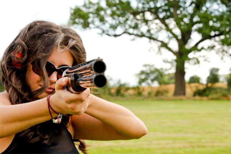 £39 for a clay pigeon shooting session for one person with 25 cartridges and a photograph, £76 for two people or £349 for 10 people from - save up to 51%