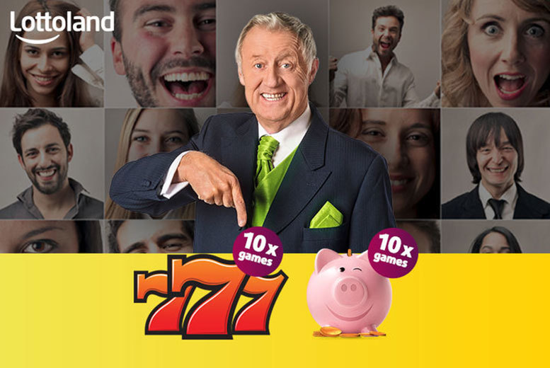 £2 instead of £6.75 for 10 777 games and 10 piggy bank games from Lottoland  - save 70%