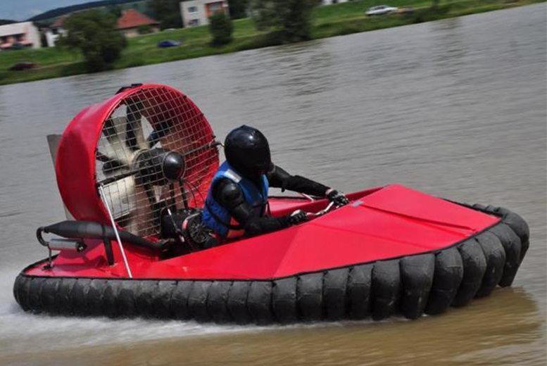 £29 instead of £79 for a hovercraft driving experience with Hoverdays, Oswestry - save a speedy 63%