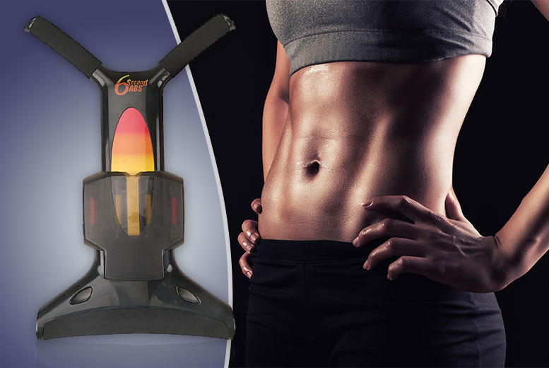£8.99 instead of £29.99 for a '6 second abs' exercise machine - save 70%