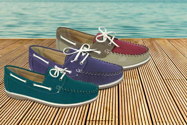 £14 instead of £39.99 (from Urshu) for a pair of women's summer boat shoes - choose from 9 colours and save 65%