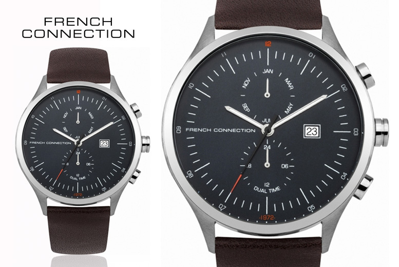 Men's FCUK Quartz Watch - Delivery Included!