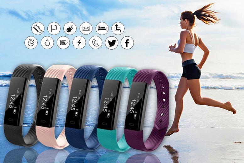 14-in-1 Wireless Fitness Tracker Bracelet for £14.00