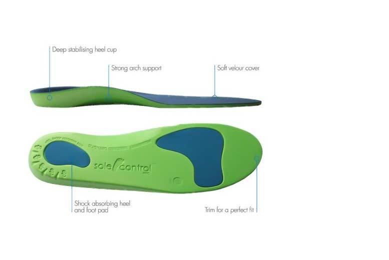 Orthotic Insoles - 1 or 2 Pairs!