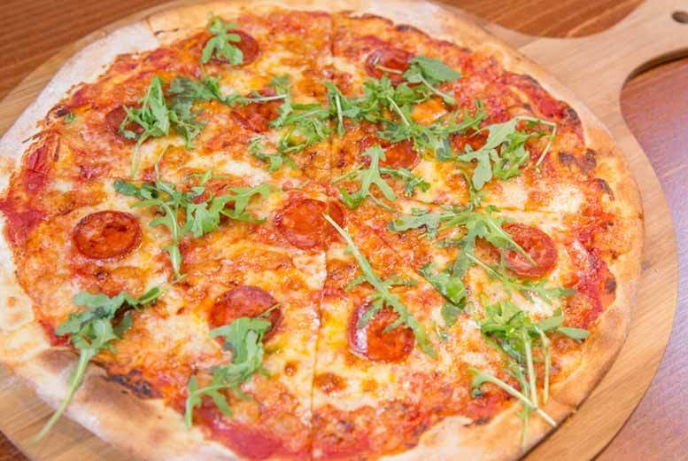 £15 instead of £28.90 for a pizza and glass of Prosecco each for two at Walrus, Manchester - save 48%