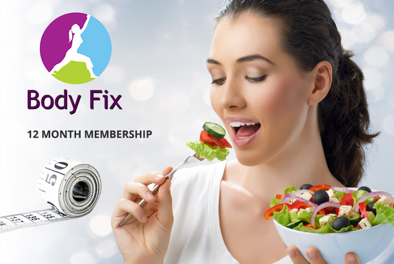 Body Fix Portion Control Diet Plan – Includes Food Containers for £10.99