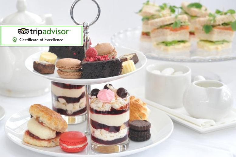 £22 instead of £37.90 for a sparkling al fresco afternoon tea for two people at The Hadley Park House Hotel, Telford - save 42%