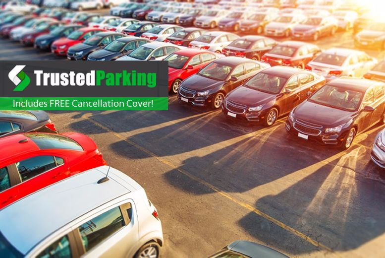 £1 for up to 30% off airport parking at 30 locations in the UK and Ireland from Trusted Parking