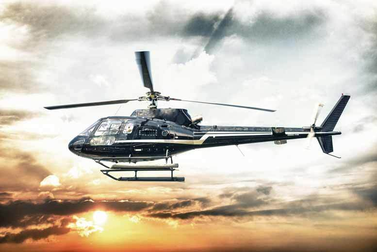 £36 instead of £50 for an eight-mile Helicopter buzz flight with a choice of drink at Helicentre - save 28%