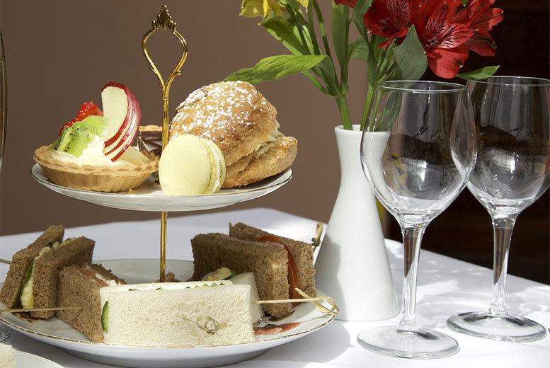 £17 for an afternoon tea for two people at a choice of six locations nationwide from Buyagift
