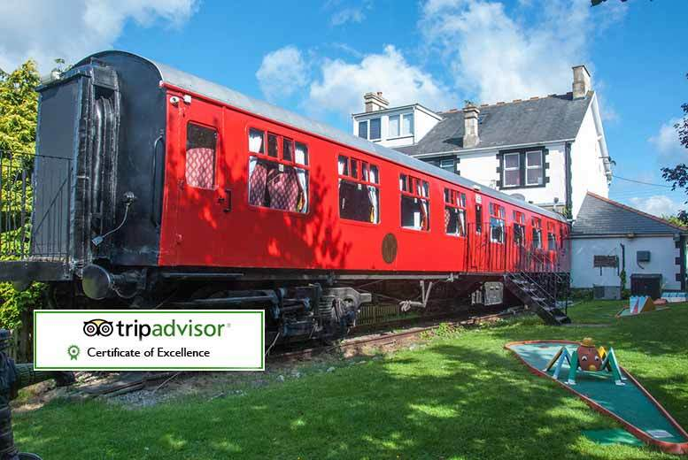 £29 instead of up to £71 (at The Old Station Inn, Hallatrow) for an overnight Somerset stay for two people including a bottle of wine to share - save up to 59%