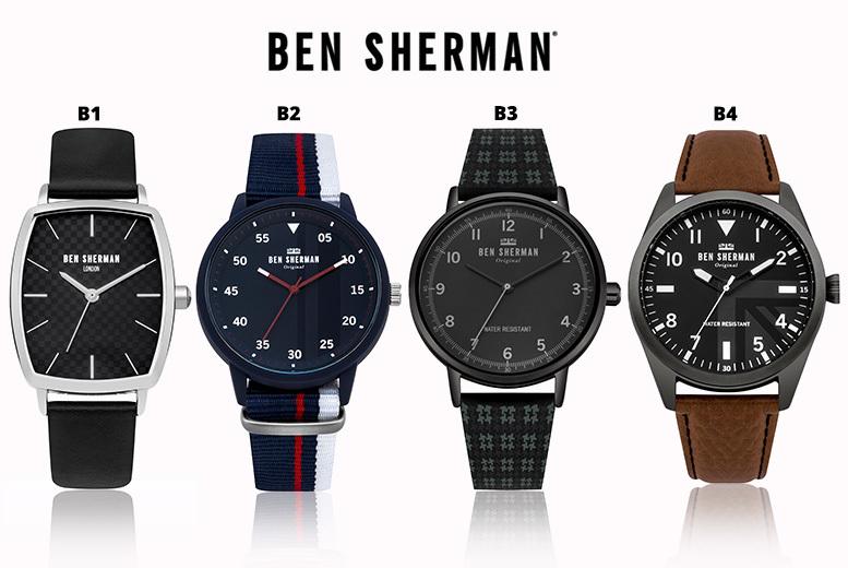 Ben Sherman Watches - 4 Designs!