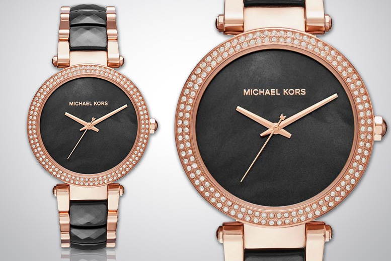 Michael Kors MK6414 Rose-Gold Ladies Watch