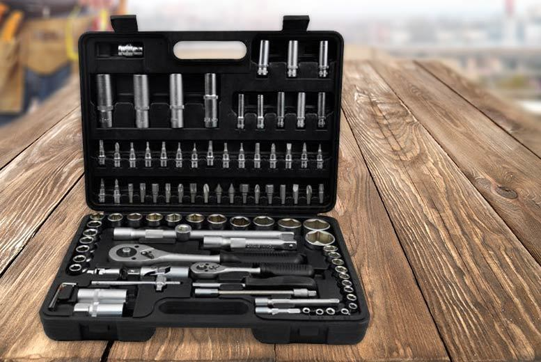 £26 instead of £145.00 (from Vivo Mounts) for a 94-piece carbon steel socket and screwdriver set - save 82%
