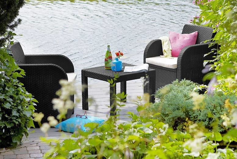 Wowcher deal debut trading ltd 89 instead of for Garden furniture deals
