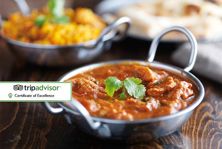 3-Course Indian Dining and Wine for 2 or 4 @ Moghul Restaurant