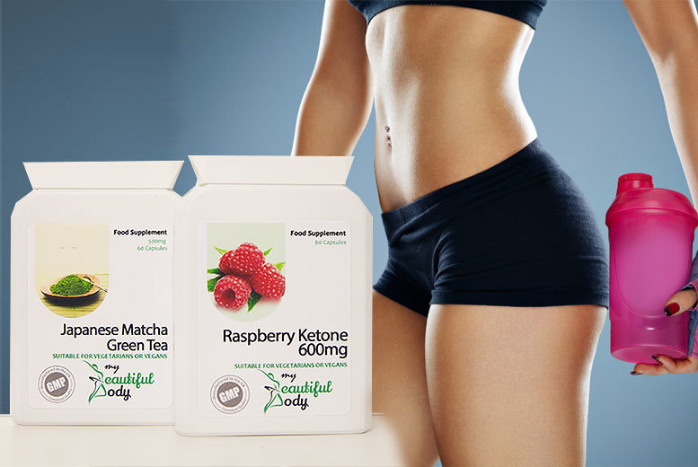 £14.99 instead of £60.98 (from Real Protein) for a one-month* supply of matcha green tea capsules and raspberry ketone capsules - save 75%