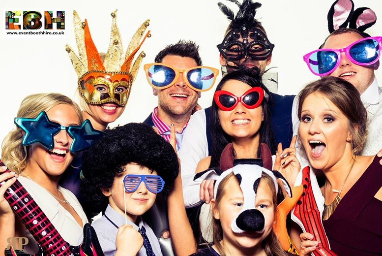 £199 instead of £450 for three-hour photobooth hire including 200 prints from Event Booth Hire - get snap happy and save 56%