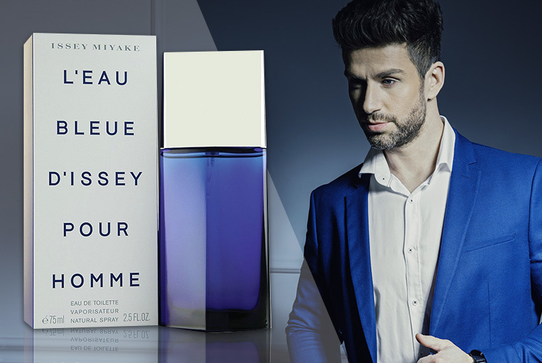 75ml Issey Miyake L'eau Bleue D'Issey Pour Homme EDT for £19.00