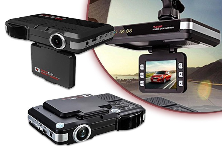 720p Wide-Angled Lens Dashboard Speed Camera from £24.99