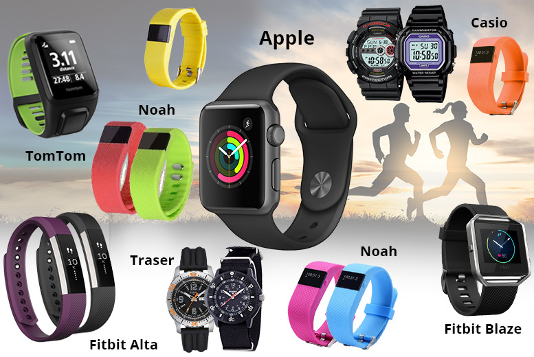 Mystery Sports Watch Deal - Apple, Fitbit, Noah & More!