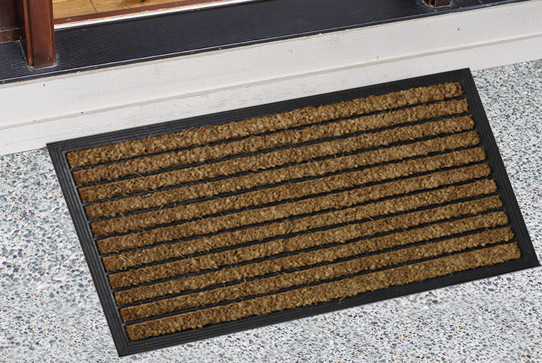 Heavy Duty Natural Coir Mat from £7.99