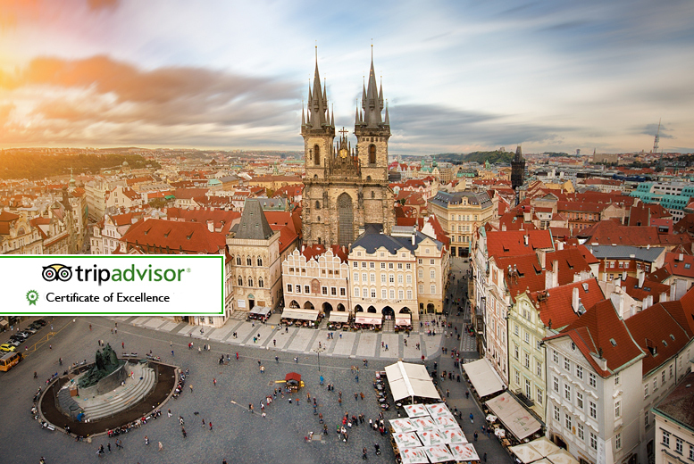 2nt 4* Prague Stay, River Cruise and Flights - Xmas Market Options!