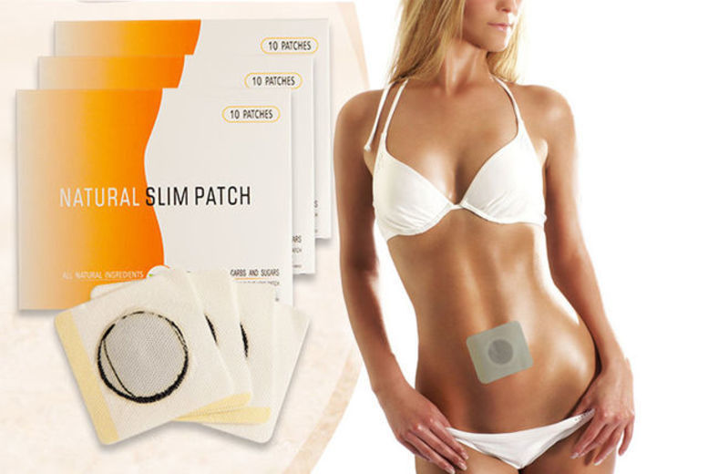60 or 90-Day Supply of Magnetic Tummy Patches from £4.99