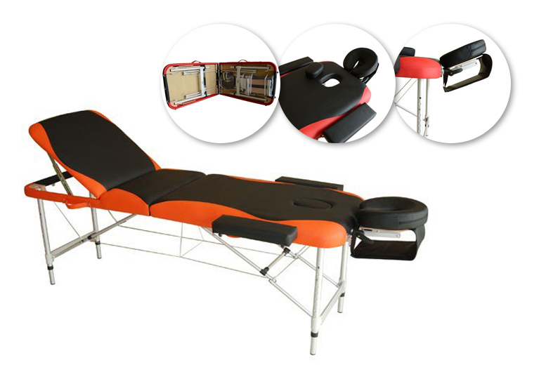 Portable Massage Table – 2 Colours! for £69.00