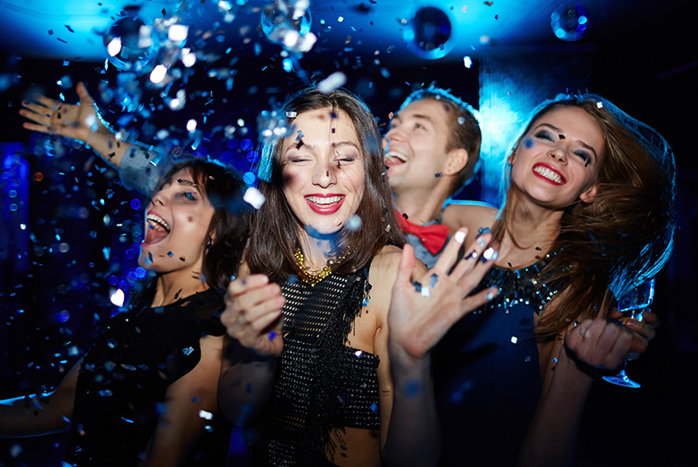 £79pp for a London party package including 4* hotel, breakfast, Prosecco, Planet Hollywood dinner plus VIP West End night club entry - save 51%