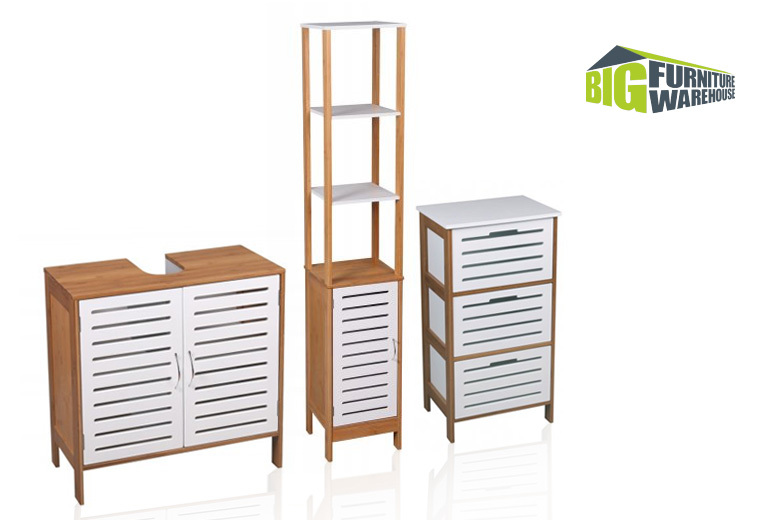 Stockholm Bathroom Furniture Range – 3 Designs! from £29.00