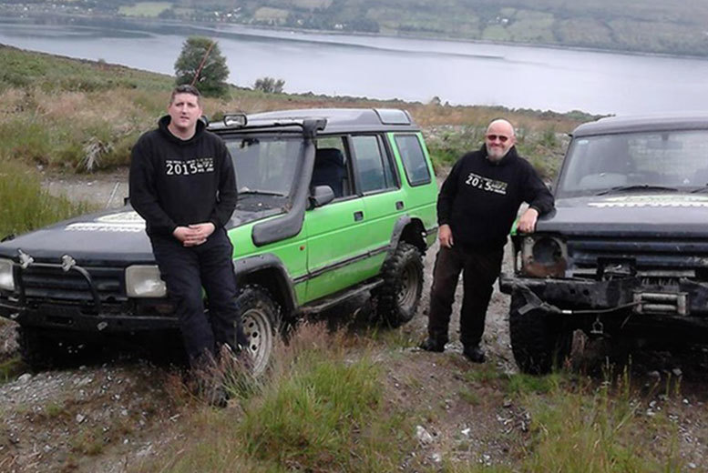 £59 instead of up to £119 for a 90-minute off-road driving experience between one, two or three people at LCS Offroad, Glasgow - save up to 50%
