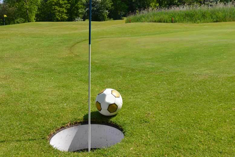 £14 instead of £28 for a game of footgolf for four at Tapton Park Golf Course from Seven Hills Leisure Trust – save 50%