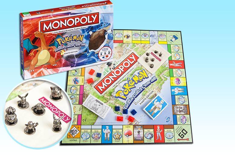 Pokemon Monopoly Board Game