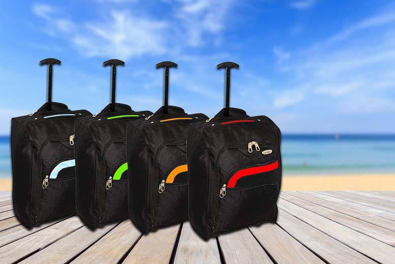 £10 instead of £43.99 (from Trendy Look) for a cabin-approved lightweight wheeled suitcase – save 77%