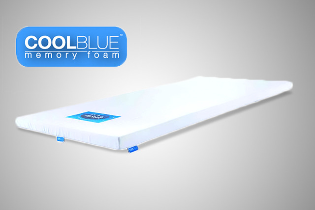 £49 instead of £149 (from Trusleep) for a sgl COOLBLUE™ memory foam mattress topper, £59 for a dbl, £69 for a king/super - save up to 67%