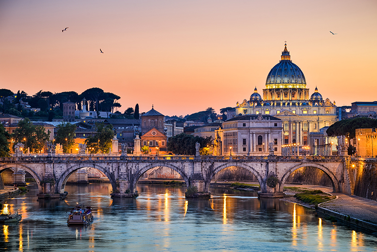 2 or 3nt Rome Stay and Six Nations 2017 Tkt - Choice of 3 Matches and Flight Options!