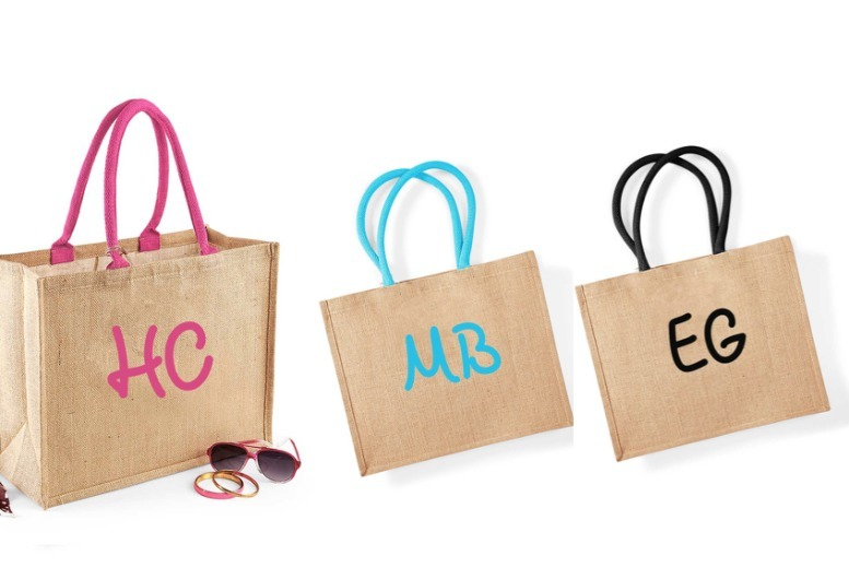 Personalised Beach Bag – 3 Colours! for £8.99