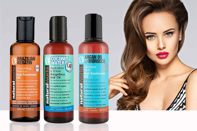 3 or 6 Moisturising Hair Oil Treatments from £9.99