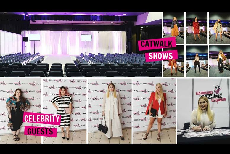 £15 for a ticket to The Curve Fashion Festival on Saturday 10th September 2016 or £20 including a Fake Bake goody bag at Exhibition Centre Liverpool - save up to 50%