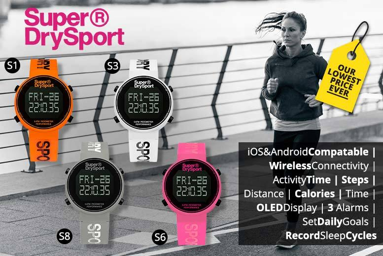 Unisex Superdry Sports Watches - 10 Designs!