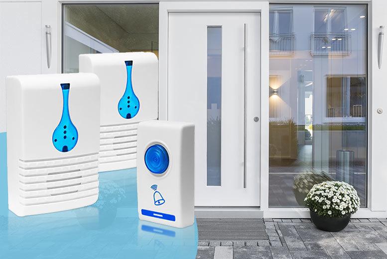 2 wireless doorbells