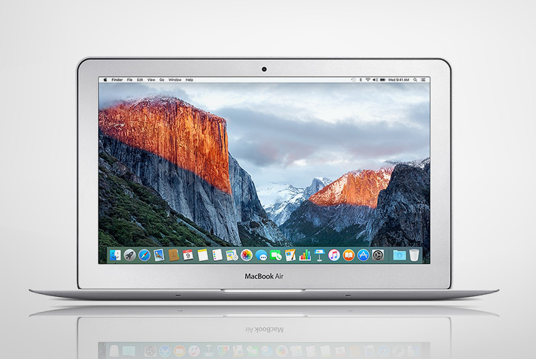 Refurbished 11″ or 13″ Apple MacBook Air 4th Gen 2014 128GB SSD 4GB RAM from £479.00
