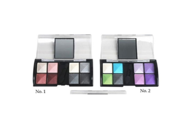 8-Colour Compact Mirror Eyeshadow Palette – 5 Options! for £2.99